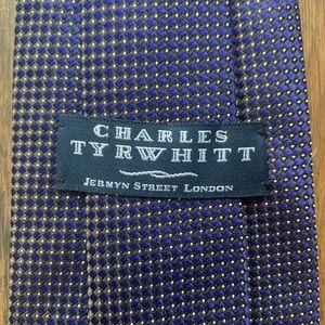 Charles Tyrwhitt Beautiful Blue Silk Tie